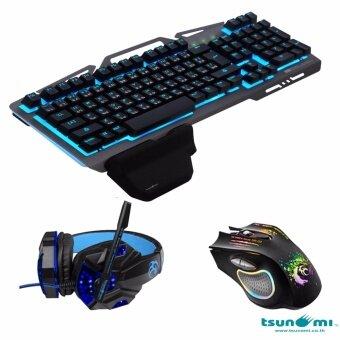E-sport Gaming Gear Combo 3in1(GE03+GM-03+GK06BLACK)