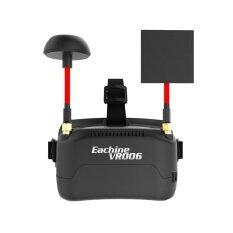 Eachine Vr006 Vr-006 3 นิ้ว 500*300 จอแสดงผล 5.8 กรัม 40ch Raceband Mini แว่นตา Fpv แบตเตอรี่ในตัว - Intl.