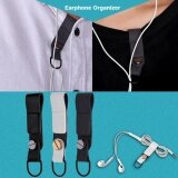 ราคา Earphone Cord Wrap Winder Tangle Free Headphone Organizer Headset Holder Black Intl ใน จีน