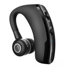 ราคา Eastor V9 แฮนด์ฟรีในรถยนต์ไร้สาย Bluetooth หูฟังพร้อมไมโครโฟน สีดำ Eastor เป็นต้นฉบับ