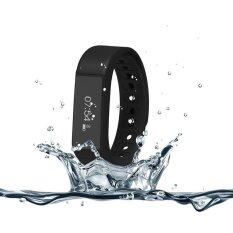 ECHO นาฬิกาสุขภาพอัจฉริยะ ติดตามกิจกรรม Bluetooth Smart Wristband Watch รุ่น I5 Plus Activity Tracker (Black)