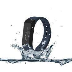 ECHO นาฬิกาสุขภาพอัจฉริยะ ติดตามกิจกรรม Bluetooth Smart Wristband Watch รุ่น I5 Plus Activity Tracker (Blue)