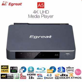 Egreat A5 ปี 2017  Android box + UHD Media Player แรง 4 Core CPU 4K H.265 Dolby DTS XBMC-