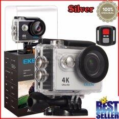 EKEN H9R 4K (สีเงิน) พร้อมรีโมท (ของเเท้ 100%)