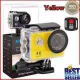 ราคา ราคาถูกที่สุด Eken H9R 4K สีเหลือง พร้อมรีโมท กล้องแอ็คชั่น แอ็คชั่นเเคม Action Camera กล้องติดหมวก