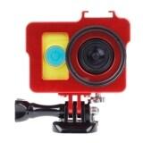 ส่วนลด เคสโลหะป้องกันการตกกระแทกสำหรับกล้อง Xiaomi Yi Action Camera เลนส์uv Filter Len Capฝาปิดเลนส์ แดง Unbranded Generic ไทย