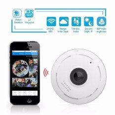 EKLEVA 360 Degree Fisheye Panoramic IP Camera 1.3 Megapixel 960P Wireless Wifi 2.4GHZ Security Camera Super Wide Angle Support IR Night Motion Detection Keep Your Pet & Home Safe - intl