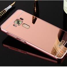 Elaike For Asus Zenfone 3 Ze520Kl Case 2 In 1 Plating Aluminum Frame Metal Mirror Pc Hard Phone Cover Intl Unbranded Generic ถูก ใน จีน