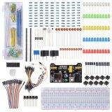 ราคา Electronic Component Learning Kit For Arduino Raspberry Pi With Breadboard Cable Resistor Unbranded Generic กรุงเทพมหานคร