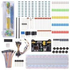 ขาย ซื้อ Electronic Component Learning Kit For Arduino Raspberry Pi With Breadboard Cable Resistor