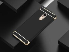 ขาย Electroplate Hard Bumper Hybrid Case Cover For Xiaomi Redmi Note 4 Bk Intl ถูก
