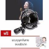 โปรโมชั่น Elit Black Microphone Mic Shock Mount อุปกรณ์ป้องกันเสียงรบกวน ป้องกันการสั่นสะเทือน ขณะอัดเสียง แถมฟรี พวงกุญแจกันหาย ระบบผิวปาก ใน กรุงเทพมหานคร
