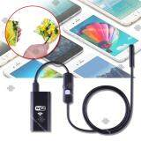 ราคา Elit กล้องเอนโดสโคป กล้องงู แบบไร้สาย ต่อเข้ากับโทรศัพท์มือถือ Endoscope Camera With Wifi Box Elit