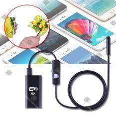 ขาย ซื้อ ออนไลน์ Elit กล้องเอนโดสโคป กล้องงู แบบไร้สาย ต่อเข้ากับโทรศัพท์มือถือ Endoscope Camera With Wifi Box