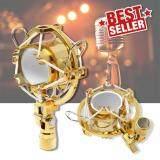 ขาย Elit Gold Microphone Mic Shock Mount อุปกรณ์ป้องกันเสียงรบกวน ป้องกันการสั่นสะเทือน ขณะอัดเสียง รุ่น Gmh 201 Sr Elit ถูก