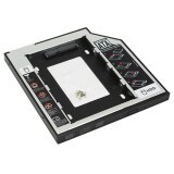 ราคา Elit ถาดแปลง ใส่ Hdd Ssd ในช่อง Dvd Notebook 9 5Mm Universal Sata 2Nd Hdd Ssd Hard Drive Caddy ใหม่ล่าสุด