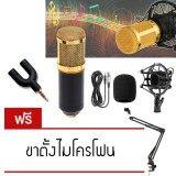 ซื้อ Elit ไมค์ ไมค์อัดเสียง คอนเดนเซอร์ Pro Condenser Mic Microphone Bm800 ฟรี ขาตั้งไมค์โครโฟน และอุปกรณ์เสริม ใหม่