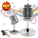 ราคา Elit ไมโครโฟนเรโทรสไตล์ย้อนยุค สำหรับ พูดหรือร้องเพลง รุ่น Rtm020 Pd ถูก
