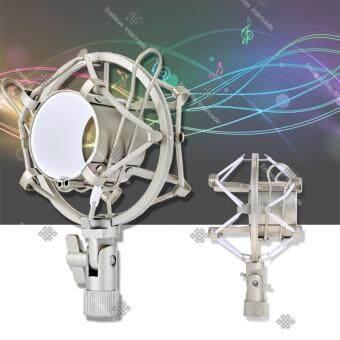 ElitSilver Microphone Mic Shock Mount อุปกรณ์ป้องกันเสียงรบกวน ป้องกันการสั่นสะเทือน ขณะอัดเสียง