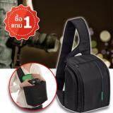 ส่วนลด Elit กระเป๋ากล้อง เป้สะพายหลัง แบบสายเดี่ยว กันน้ำ Sling Camera Bag Backpack Waterproof Black Green แถมฟรี 1 ชุด Elit