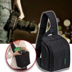 ซื้อ Elit กระเป๋ากล้อง เป้สะพายหลัง แบบสายเดี่ยว กันน้ำ Sling Camera Bag Backpack Waterproof Black Green ใหม่