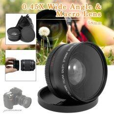 ซื้อ 45 X เลนส์มุมกว้าง 58มมกับแมโครสำหรับ Canon Eos 650D 50D 40D 400Dn450D Lf37 ระหว่างประเทศ Intl ออนไลน์