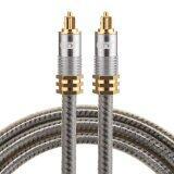 โปรโมชั่น Emk Yl A 1M Od8 0Mm Gold Plated Metal Head Toslink Male To Male Digital Optical Audio Cable Intl Sunsky