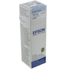 Epson หมึกเติมแท้ EPSON L800 T6735 (สีฟ้าอ่อน)