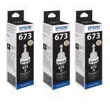 ราคา Epson Ink Bk T673100 70Ml Black 3 ขวด Epson เป็นต้นฉบับ