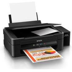 ราคา Epson L360 เครื่องพิมพ์ พร้อมหมึกแท้ 1 ชุด หมึกดำ 1 ขวด สีอย่างละ 1 ขวด เป็นต้นฉบับ