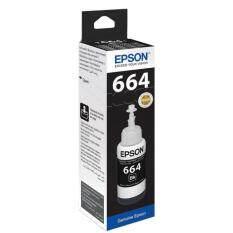 หมึกแท้ Epson T6641 หมึกดำ