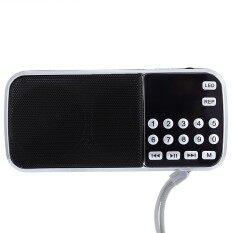โปรโมชั่น Escabyss Portable Fm Radio Speaker Music Player Usb Aux Input Intl ใน จีน
