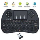 ราคา Esogoal 2 4Ghz Wireless Mini Portable Keyboard With Touchpad For Pc Pad Xbox 360 Ps3 Google Android Tv Box Htpc Iptv Intl