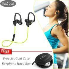 โปรโมชั่น Esogoal หฟังบลูทูธ Earbud เวอร์ชั่น 4 1 พร้อมไมโครโฟน หูฟังอินเอียร์ รุ่น สำหรับออกกำลังกาย หูฟังไร้สาย