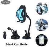 ราคา Esogoal Car Mount 3 In 1 Air Cradle Dashboard กระจกหน้ารถ Universal สำหรับ Iphone Android และอุปกรณ์อื่นๆ ใน จีน