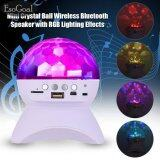 ราคา Esogoal Disco Dj Bluetooth Speakers Rotating Led Strobe Bulb 6 Changing Multi Color Crystal Stage Light Wireless Speaker For Par Intl Esogoal Thailand