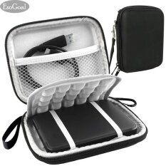 ส่วนลด Esogoal External Hard Drive Bag Case Shockproof Carrying Travel Case For 2 5 Inch Portable External Gps Camera Pack Black Intl