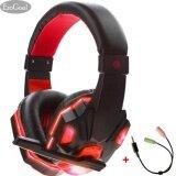 ขาย ซื้อ Esogoal หูฟังเกมมิ่ง หูฟัง Gaming Headset สีแดง ใน จีน