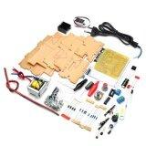 ราคา ราคาถูกที่สุด Eu 220V Diy Lm317 Adjustable Voltage Power Supply Board Kit With Case Intl