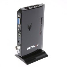ส่วนลด Eu Plug Av To Vga Rf To Vga Converter Adapter Receiver Box For Tv Hdtv Lcd Black Intl