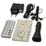 ส่วนลด Eu Vintage Car Tape Cassette Sd Mmc Mp3 Player Adapter Kit With Remote Control Intl Unbranded Generic จีน