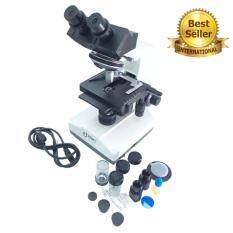 โปรโมชั่น Everland กล้องจุลทรรศน์ Microscope แบบสองตา ระดับมืออาชีพ กำลังขยาย 1600X Axs1006 Everland ใหม่ล่าสุด