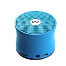 ราคา Ewa ลำโพงบลูทูธกันน้ำ Bluetooth Speaker รุ่น A109 สีฟ้า ถูก