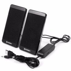 ราคา Ezeey S4 Mini Multimedia Speaker ลำโพงสำหรับ คอมพิวเตอร์ โน๊ตบุ๊ค แท็บเล็ต โทรศัพท์มือถือ สีดำ ที่สุด