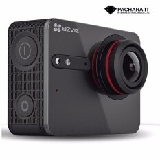 Ezviz Sport Camera S5 Plus 4K/30fps (Champagne Black) ประกัน 1 ปี