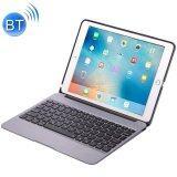 ขาย F06 For Ipad Pro 9 7 Inch Portable Foldable Aluminium Alloy Wireless Bluetooth Backlight Keyboard Grey Intl ถูก
