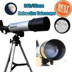 ซื้อ F50360M กล้องโทรทรรศน์ 90X กล้องมองระยะไกล เงิน