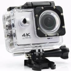 YICOE F60R การกระทำ Camera 4 พัน 30FPS อินเตอร์เน็ตไร้สายอัลตรา 16MP 30 เมตรกันน้ำ 170D มินิดูโปรเจคเตอร์ 4 พันเอกสไตล์ EN HELMET กล้องกีฬา