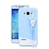 ราคา Fabitoo Cute Ice Cream Silicone Back Cover Case For Samsung Galxay A8 With Lanyard Blue Color Intl ถูก