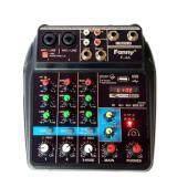 ขาย ซื้อ ออนไลน์ F*nny มิกเซอร์ Mini 4 Channel มีbluetooth Mp3 Usb Sd รุ่น F 4A